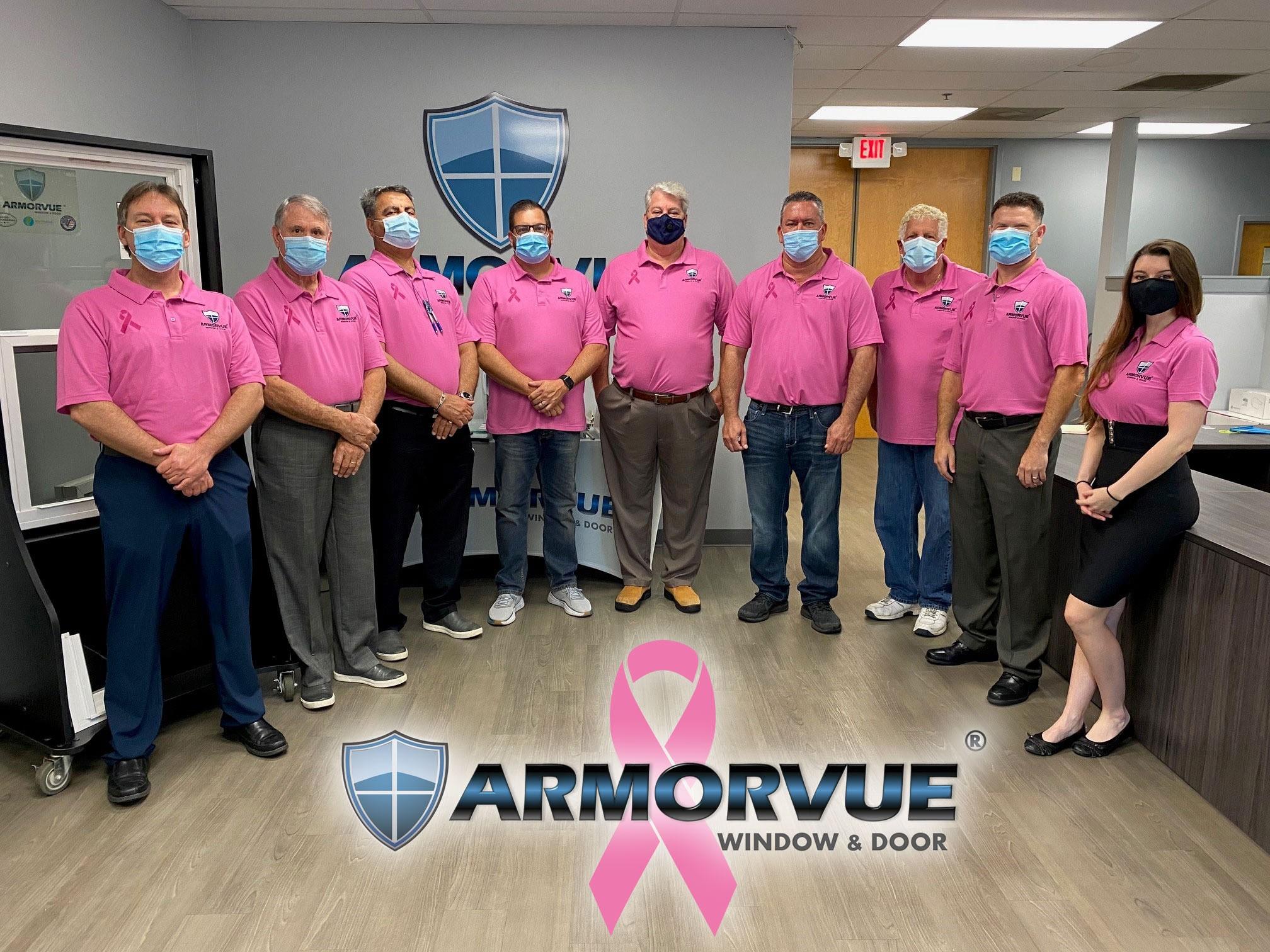 Armorvue Orlando Goes Pink for October